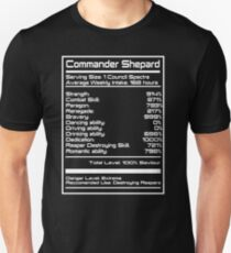 Mass Effect - Shepard Stats T-Shirt