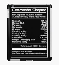 Mass Effect - Shepard Stats iPad Case/Skin