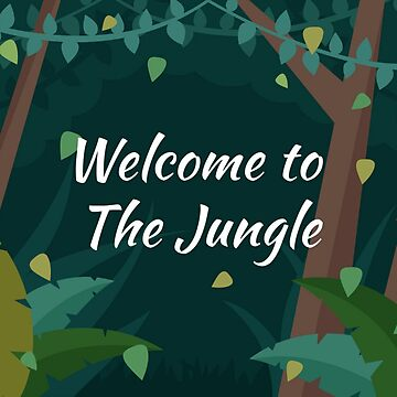 Welcome to the jungle  by AmineSecrets