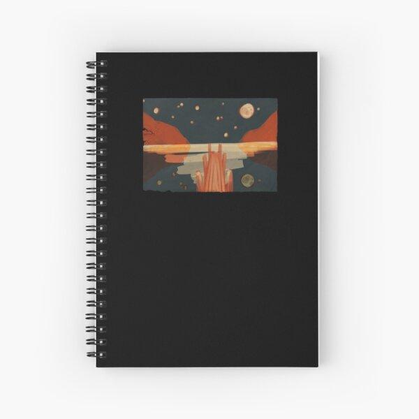 Rocket Bay Lake Spiral Notebook