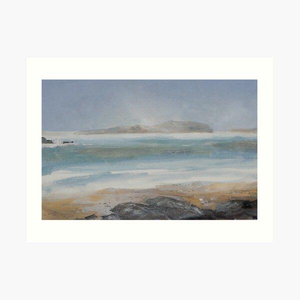 Storm over Little Cumbrae Art Print