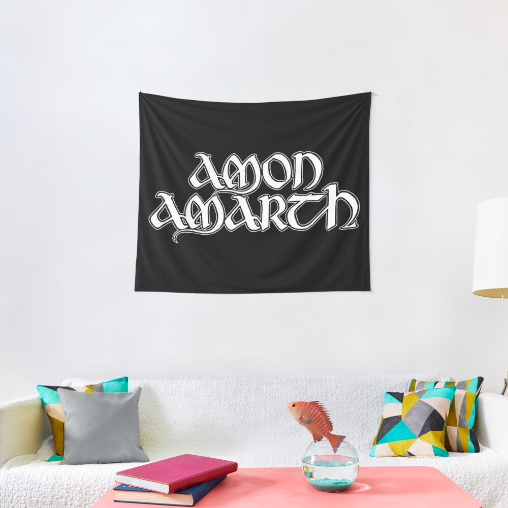Quot Amon Amarth Quot Wall Tapestry By Loudmetal Redbubble