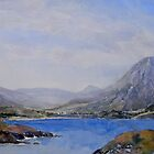 Quinag and Badcall Bay by Peter Taylor