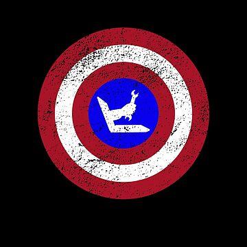 Funny Captain Tech IT-Support Helpdesk Superhero Design by micha75muc
