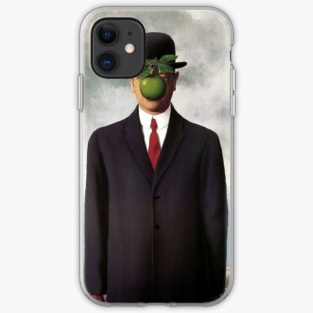 Magritte Apple Iphone Hülle | Haut | Abdeckung iPhone-Hülle & Cover