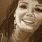 Bonnie In Pencil by Susan McKenzie Bergstrom