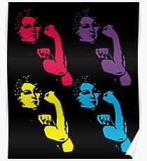 Rosie the Riveter Pop Art Widerstand Poster