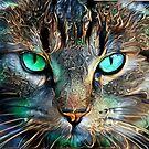 Cat Portrait by EOSXTi