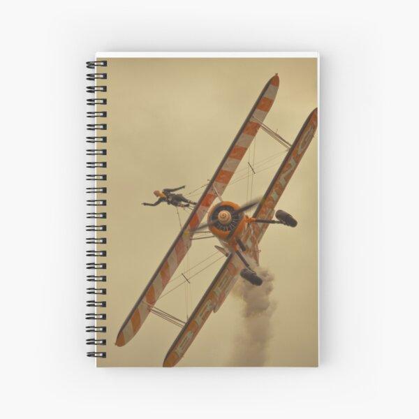 Brietling wing walkers Spiral Notebook
