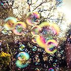 Gardens are meant for bubbles! by Gemma Laidlaw