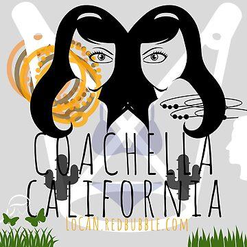 the eye | Coachella California by Locan