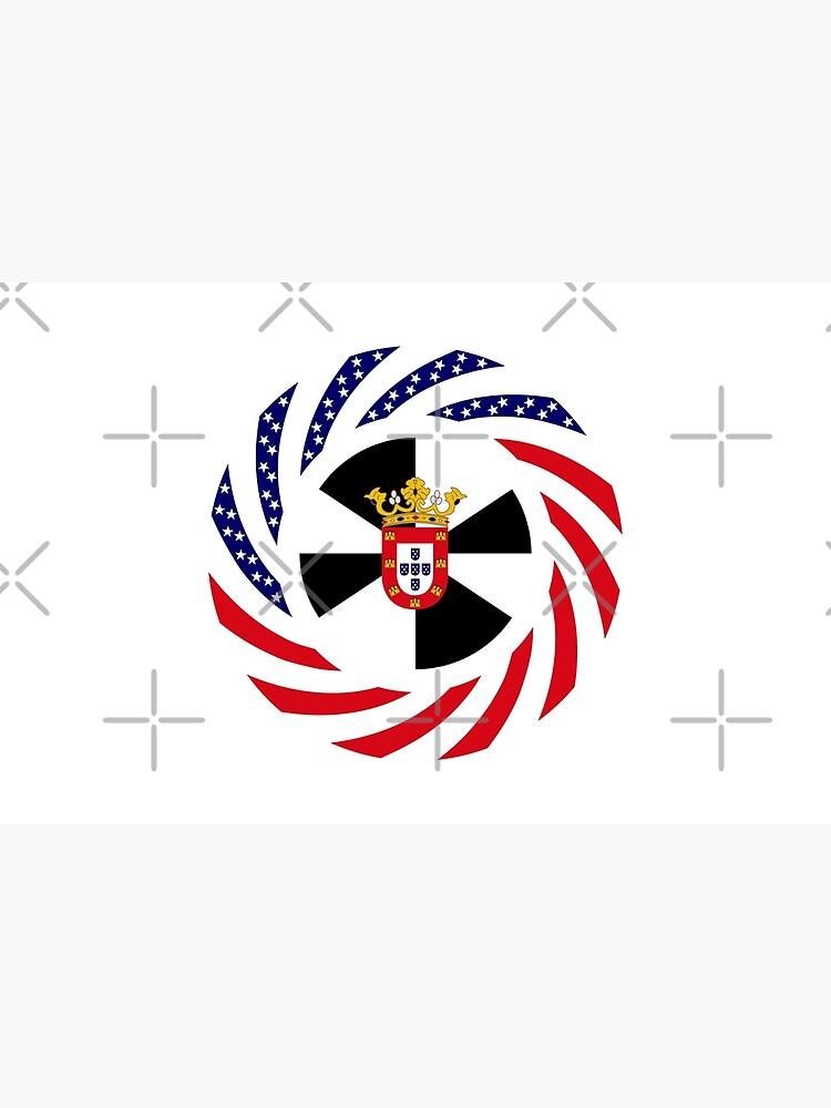 Ceutan American Multinational Patriot Flag Series by carbonfibreme
