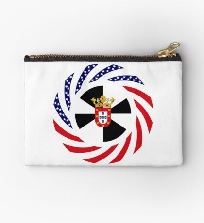 Ceutan American Multinational Patriot Flag Series Zipper Pouch