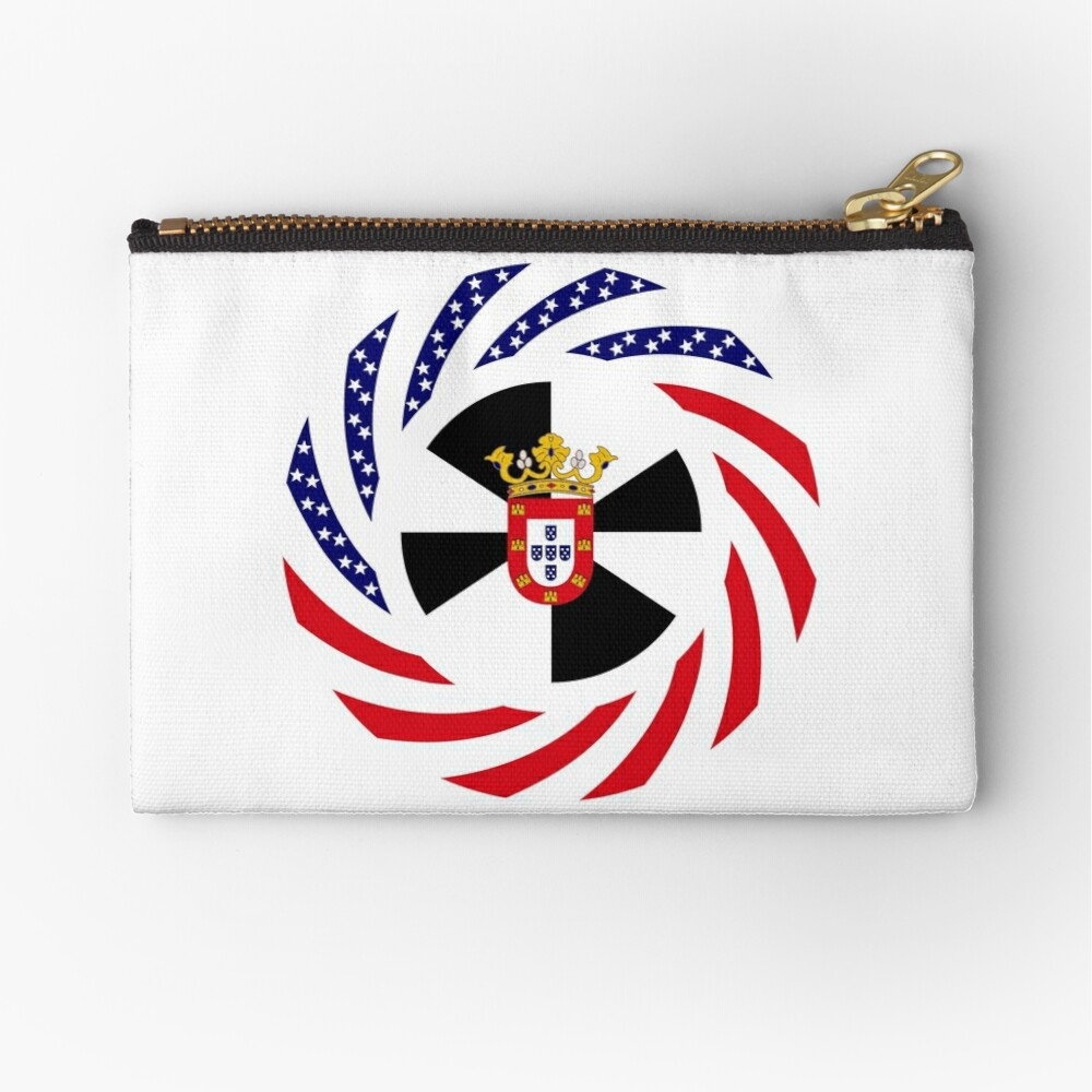 Ceutan American Multinational Patriot Flag Series Zipper Pouch