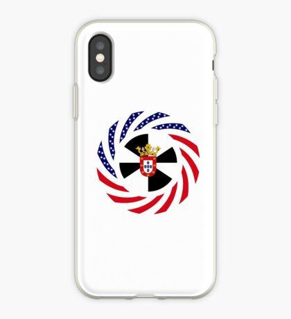 Ceutan American Multinational Patriot Flag Series iPhone Case