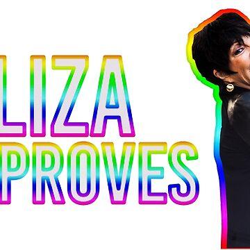 Liza Approves  by michaelroman