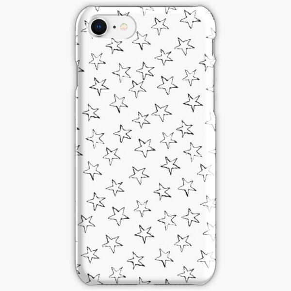 more white stars iPhone Snap Case