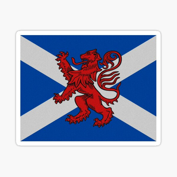 THE SCOTTISH LION Sticker
