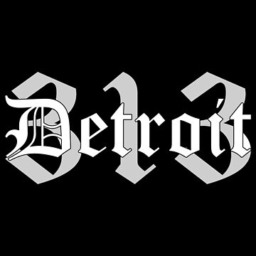 Detroit 313 by mBshirts
