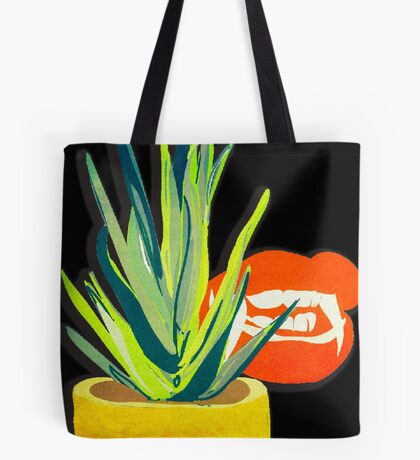 Succulent succubus illustration Tote Bag