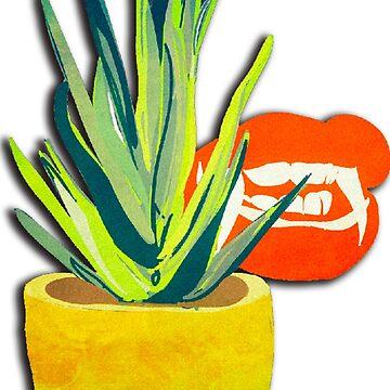 Succulent succubus illustration by FrenchToasty