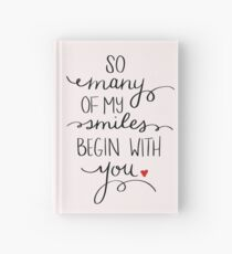 Beginning with You  Hardcover Journal