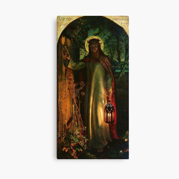 "William Holman Hunt ""La luz del mundo"" Lienzo"