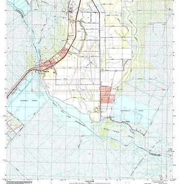 USGS TOPO Map Louisiana LA Des Allemands 331839 1998 24000 by wetdryvac