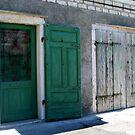 Green doors by Dalmatinka