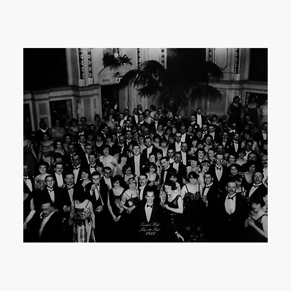 The Overlook Hotel 4th Of July Ball High Quality Photographic Print