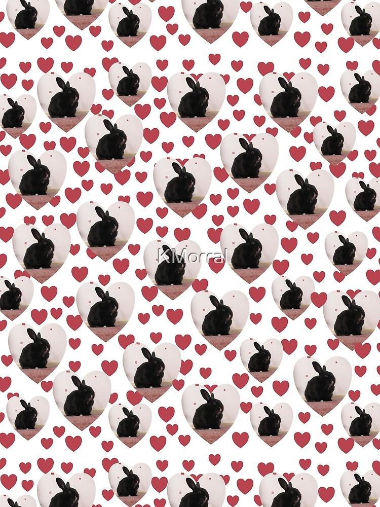 Bunny hearts by KMorral