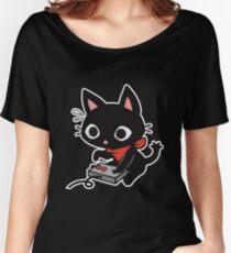 ★ Kawaii GamerCat Women's Relaxed Fit T-Shirt