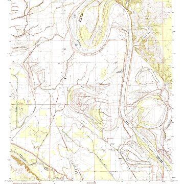 USGS TOPO Map Louisiana LA Dixie 331840 1982 24000 by wetdryvac