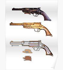 Mals gun Serenity n Firefly  Poster
