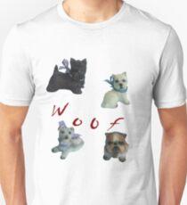 Woof ;  Unisex T-Shirt