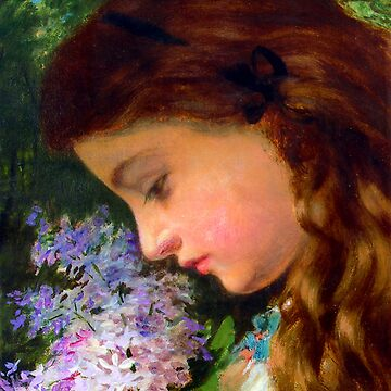 "Sophie Gengembre Anderson ""Girl With Lilac"" by ALD1"