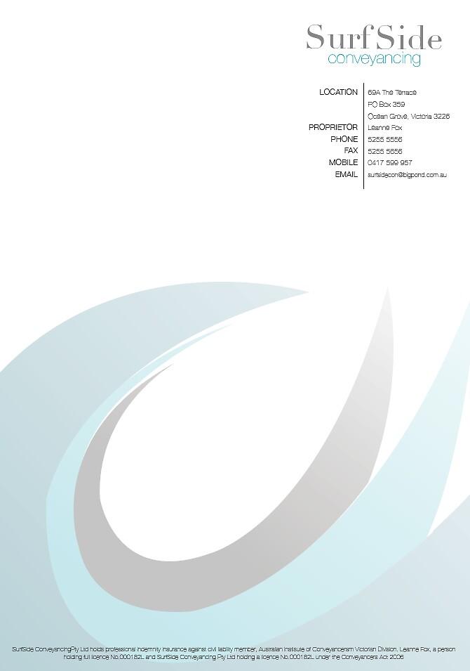 Corporate identity - letter head by Emma Gene Shanks