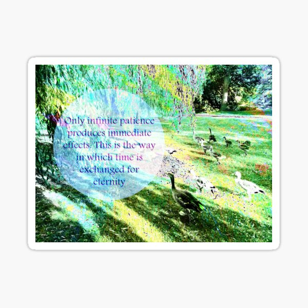 ACIM quote #1 Sticker
