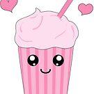 kawaii Eis Milchshake von Stefanie Keller