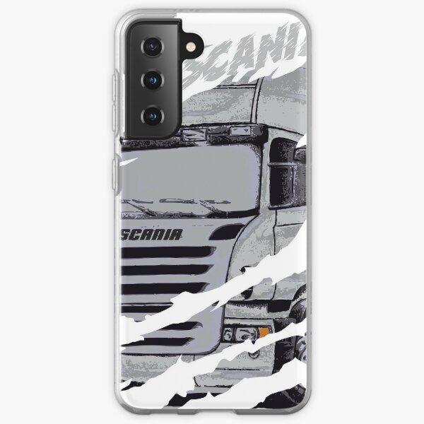 camion scania Coque souple Samsung Galaxy