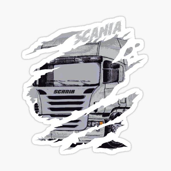 camión scania Pegatina
