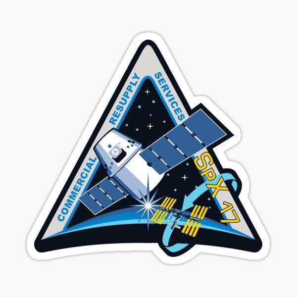 NASA insignia for CRS-17 (SpX 17)  Sticker