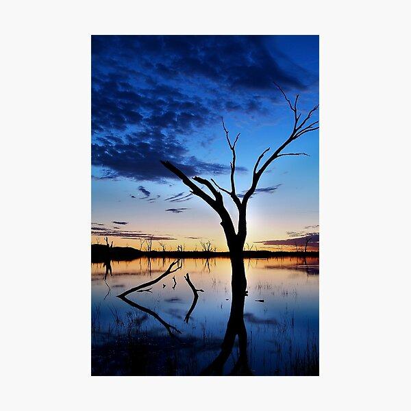 Lake Fyans, Blue Lagoon Photographic Print