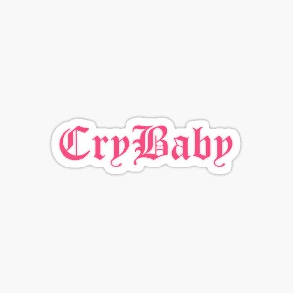 Crybaby Logo LIl Peep Sticker