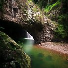 Natural Arch, Border Ranges, Qld by David de Groot