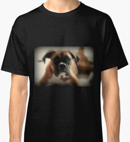 Gesicht der Unschuld ~ Boxer-Hundeserie Classic T-Shirt