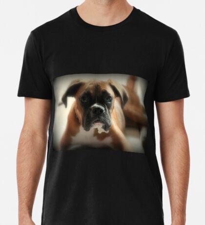 Gesicht der Unschuld ~ Boxer-Hundeserie Premium T-Shirt