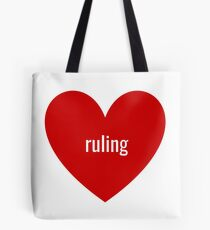 ruling Tote Bag