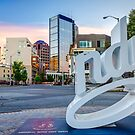 #LoveIndy - Indianapolis Indiana Architecture Cityscape Skyline by Gregory Ballos
