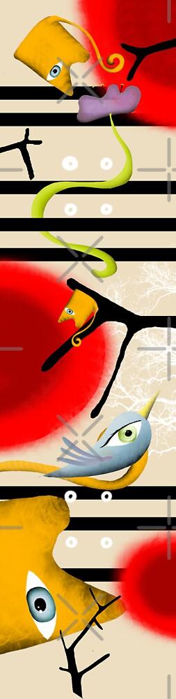 birds on my skateboard by rupydetequila